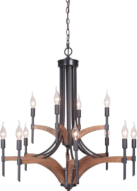 Whiskey Barrel Chandelier Craftmade 40312 Espwb Tahoe Espresso Whiskey Barrel Chandelier Light Cft 40312 Espwb