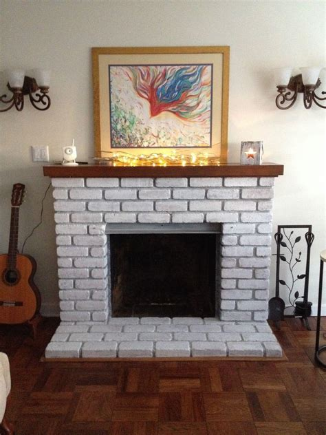 Brick Fireplace Surround Designs by Whitewashing Brick Fireplace Surround Fireplace Designs