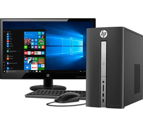 hp 570 a111na desktop pc with full hd 21 5 quot led monitor ebay
