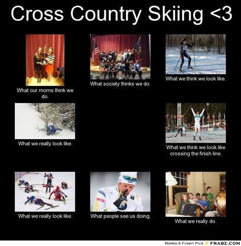 Skiing Meme - pin by j miller on sports pinterest meme skiing and