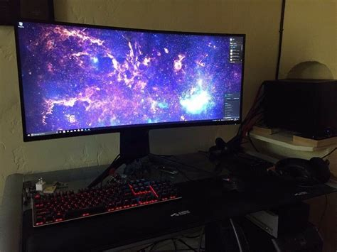 dell alienware 34 curved monitor aw3418dw in downend bristol gumtree