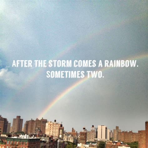 after a quotes quotes about rainbows after quotesgram