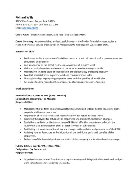 accounting resume exles pdf resume ixiplay free