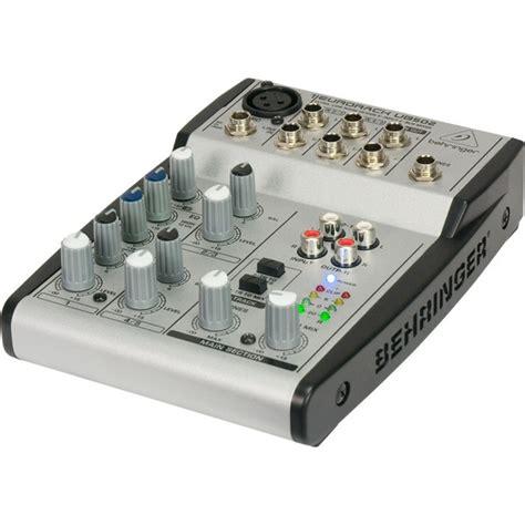 Mixer Behringer Eurorack behringer eurorack ub502 mixer at gear4music