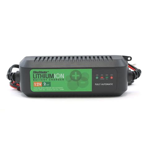 lithium ion battery charger bikemaster lithium ion battery charger