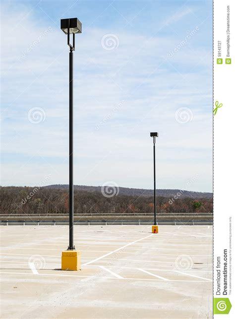 digital parking lot light timer parking lot lights stock image image of roof ls