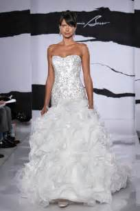 Kleinfeld Wedding Dresses Wedding Dress Fall 2012 Dennis Basso For Kleinfeld Bridal 25 Onewed Com