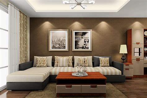 drawing room interiors designs of walls in drawing room