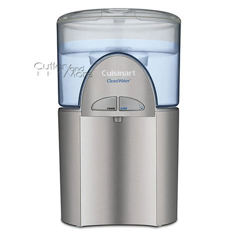 Countertop Filtration System by Cuisinart Cleanwater Countertop Filtration System 1 5