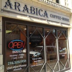 arabica coffee house arabica coffee house closed coffee tea 1374 ontario st civic center