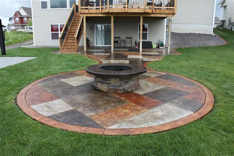 patio ideas square concrete patio ideas www pixshark images