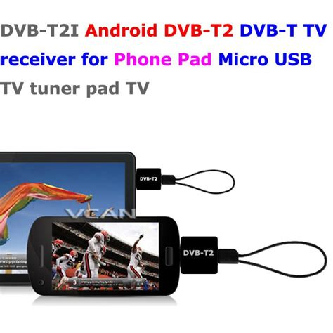 Tv Tuner Dvb T2 Dongle For Android Smartphone dvb t2i android dvb t2 dvb t tv receiver for phone pad micro usb tv tuner apk vcan