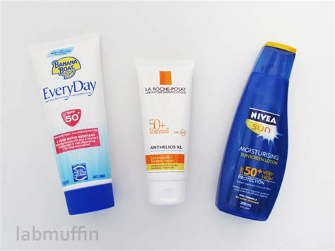 top 10 best sunscreens in 2014 reviews top10thebest hairstyles banana boat la roche posay and nivea sunscreen reviews