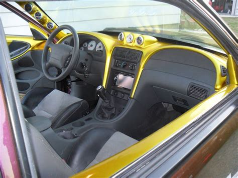Sn95 Interior by Checkered Fox Mustang Has Of A Cobra Interior