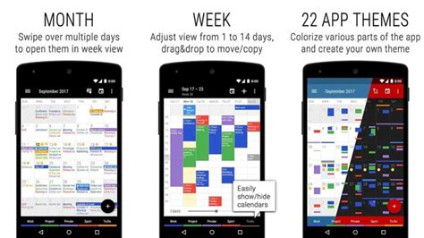 themes app 2018 10 best calendar apps for android for 2018 android authority