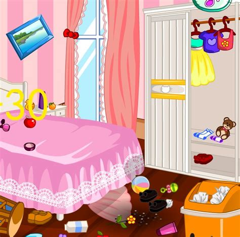 hello kitty bedroom game hello kitty room cleanup