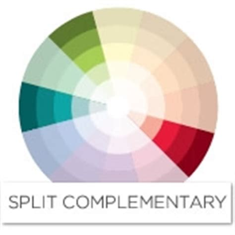 red complementary color color story decorating with red split complementary