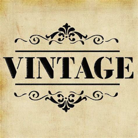 shabby chic vintage stencil ideal stencils