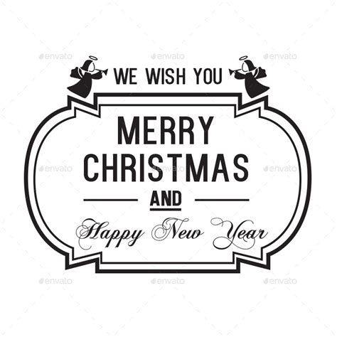 Label Sticker Merry merry labels by arted graphicriver