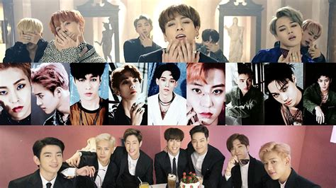 Topi Exo Bts Shinee Got7 Korea bts blood sweat tears exo s lotto and got7 s carry mashup goes viral