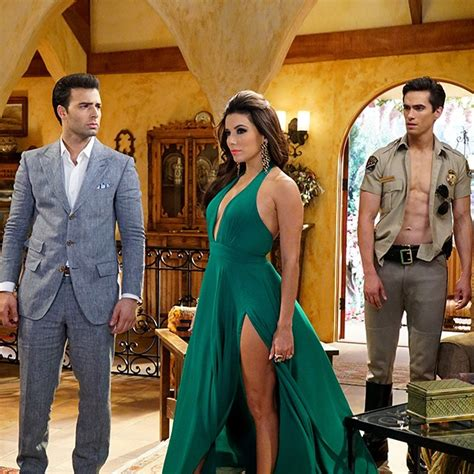 tv soap operas telenovelas are part of our latin american dna jose romero brooks co stars with eva longoria in