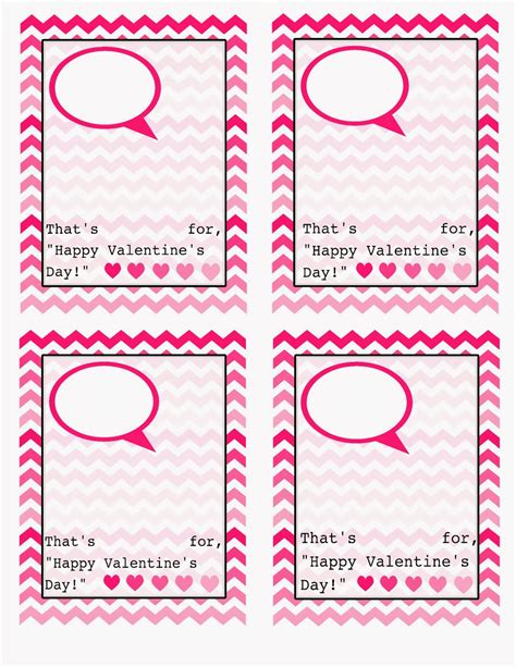 free printable valentines card templates the clan valentines day cards free template