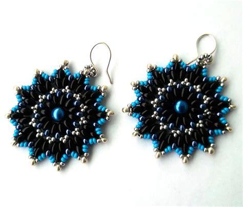 free patterns for beaded earrings free pattern for earrings bonny magic
