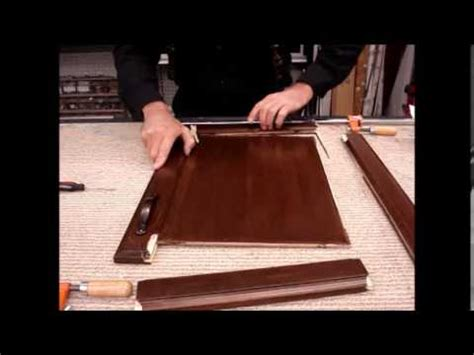 how to fix cabinet door panel how to repair restore a broken cabinet door fix with
