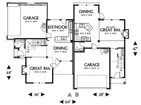 Corner Lot Duplex Plans by Corner Lot Duplex Residential Home Design Pinterest