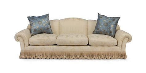 cream colored couch a cream colored damask three seat sofa modern sofa