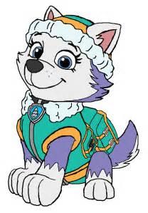 everest paw patrol coloring pages everest paw patrol by kingleonlionheart on deviantart