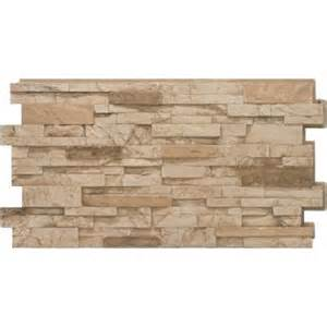 stacked home depot urestone stacked 35 desert 24 in x 48 in