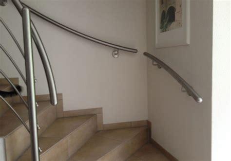 treppenhandlauf edelstahl handlauf stahl verzinkt grau pulverbeschichtet