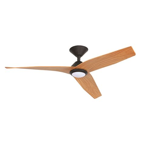 mercator 120cm avia dc ceiling fan with light black