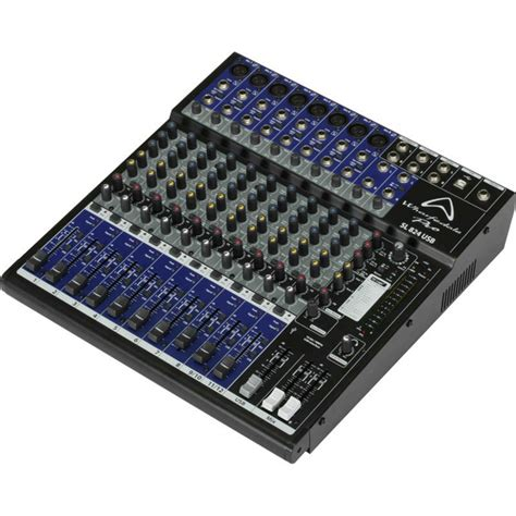 Mixer Wharfedale wharfedale pro sl824 usb mixer at gear4music