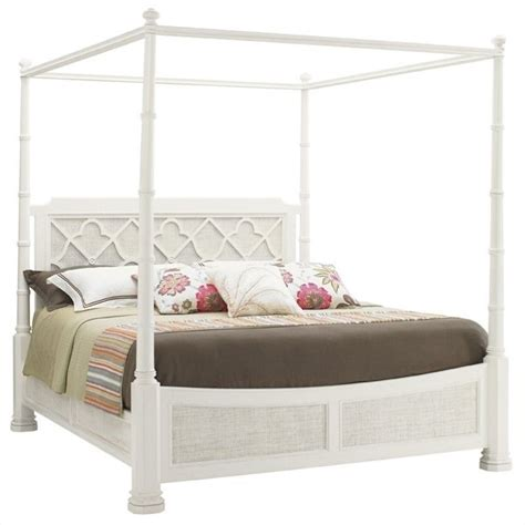 tommy bahama beds tommy bahama home ivory key southton panel bed in white