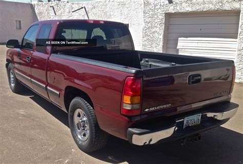 Silverado Bed by 1999 Chevrolet Silverado 1500 Ls Extended Cab Bed C