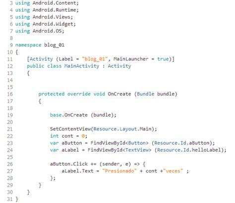 xamarin mono tutorial dw software tutorial desarrollo de aplicaci 243 n para