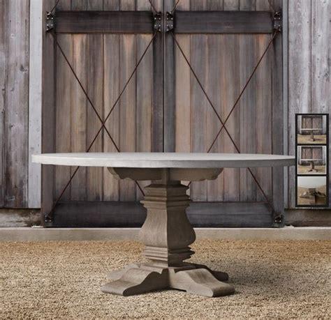 restoration hardware concrete table restoration hardware concrete table build