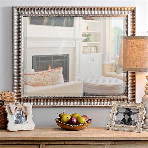 clearance bathroom mirrors silver framed mirror 28x34 kirklands