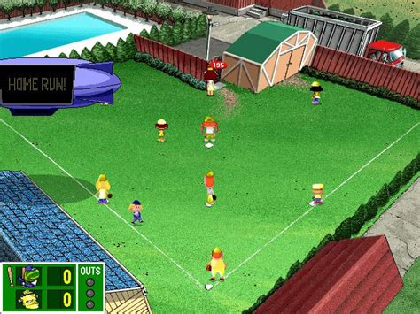 backyard football gameplay backyard baseball 2001 cd windows game