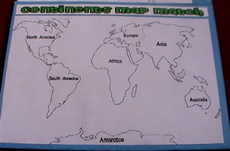 printable templates of continents best photos of cut out continents globe printable