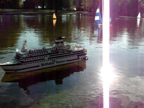 radio controlled model boats youtube radio control model boat brittany ferries bretagne youtube