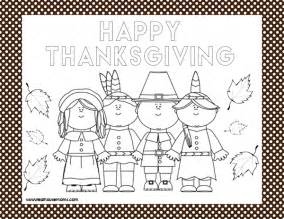 free printable thanksgiving placemats printable thanksgiving placemats real housemoms