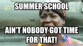 Summer School Meme - summer school