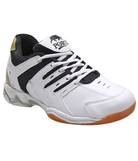 sports shoes for badminton port white badminton sport shoes price in india buy port