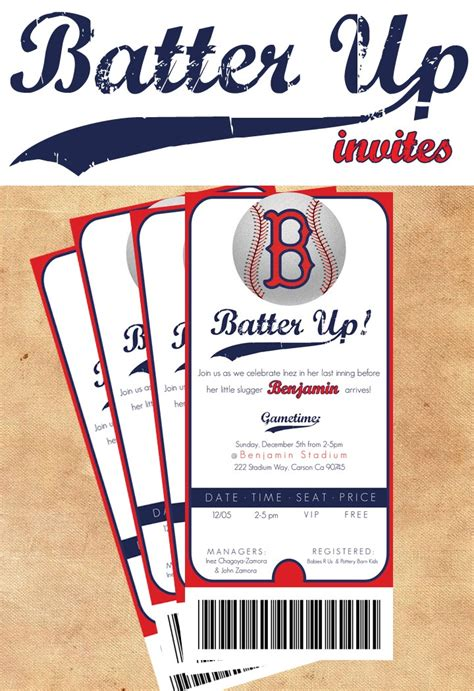 baseball themed shower invite baby shower pinterest