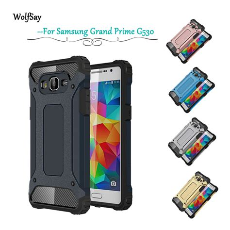 Anti Shock Samsung Grand Prime G530 J2 Prime G532 Casing Cover Hp for samsung galaxy grand prime g531h g530 g530h g531 g531f armor anti shock phone for
