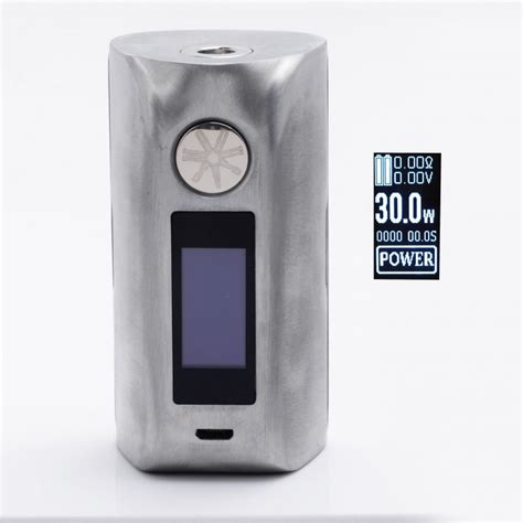 Authentic Asmodus Minikin 2 Box Mod 180w authentic asmodus minikin 2 180w silver 1 0 quot touch screen tc vw mod