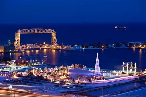 christmas lights duluth mn 48 best images about frozen lake superior on pinterest